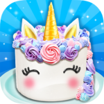 Unicorn Food – Sweet Rainbow Cake Desserts Bakery (MOD, Unlimited Money) 2.5