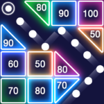 Bricks Breaker – Glow Balls Apk 1.9.177