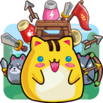 Cat'n'Robot: Idle Defense – Cute Castle TD Game (MOD, Unlimited Money) 3.2.2