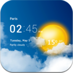 Transparent clock & weather Apk 4.1.1.2