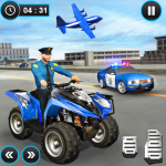 US Police ATV Quad Bike Plane Transport Game Mod 1.1.15
