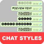 Chat Styles: Cool Font & Stylish Text for WhatsApp (Mod) 6.5
