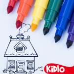Coloring Games for Kids – Drawing & Color Book (Mod) 2.1.1