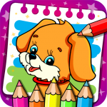 Coloring & Learn Animals – Kids Games (Mod) 1.118
