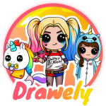 Drawely – How To Draw Cute Girls and Coloring Book (Mod) 99.0