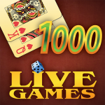 Thousand LiveGames – free online card game 1000 (Mod) 3.86