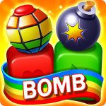 Toy Bomb Blast Match Toy Cubes Puzzle Game Mod