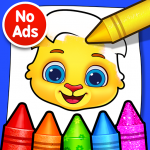 Coloring Games: Coloring Book, Painting, Glow Draw (Mod) 1.1.5