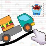 Dino Brain: Brain It On – Draw Physics Line (Mod) 1.2.1