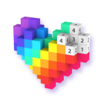 Voxel – 3D Color by Number Pixel Coloring Book Mod