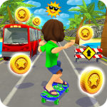 Skater Rush – Endless Skateboard Game (Mod) 1.2.1