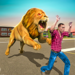 Angry Lion Sim City Attack (Mod) 1.3
