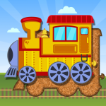 Trains Jigsaw Puzzles for Kids (Mod) 3.6