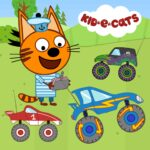Kid-E-Cats: Kids racing. Monster Truck (Mod) 1.1.2
