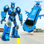 Flying Limo Robot Car Transform: Police Robot Game (Mod) 1.0.17