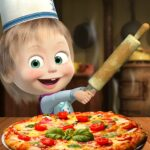 Masha and the Bear Pizzeria Game! Pizza Maker Game (Mod) 1.1.9